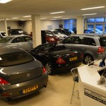 Showroom Ten Dam Auto's Haaksbergen